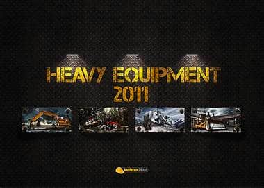 """Heavy Equipment""-Kalender"