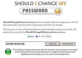 Should I Change My Password?