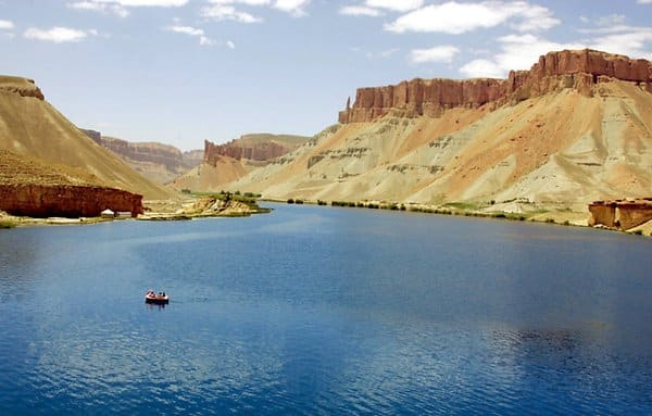 Band-e Amir in Afghanistan.