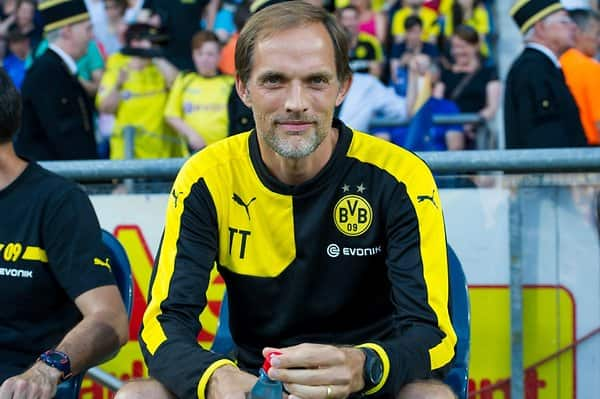 Dortmunds Trainer Thomas Tuchel.