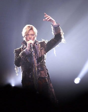 David Bowie 2004 in Prag.