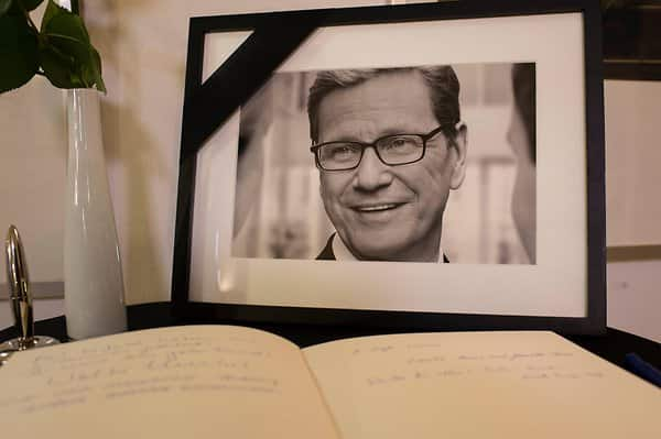 Guido Westerwelle Tod