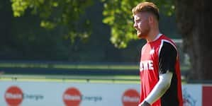 Timo Horn beim Training (1)