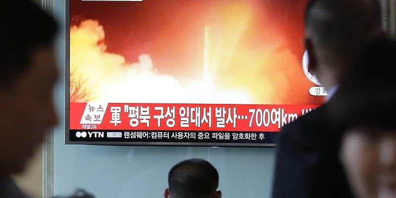 Nordkorea warnt USA nach Raketentest