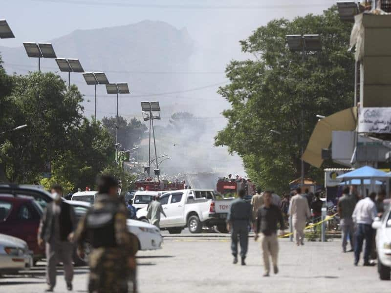 Afghanistan Viele Tote bei Anschlag in Kabul