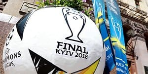 Champions League Finale Ball Kiew UEFA