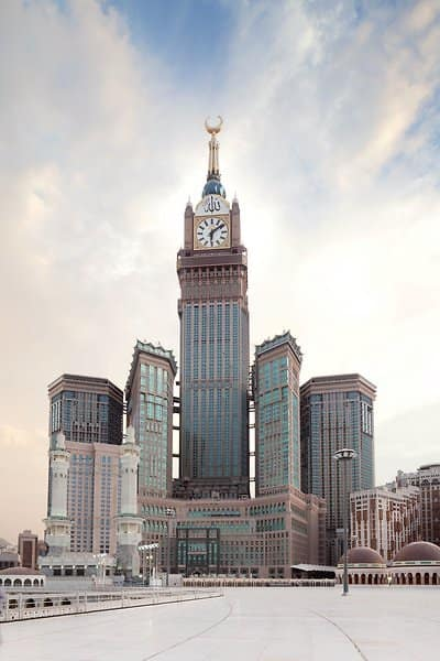 Mecca Royal Clock Tower Hotel Etagen